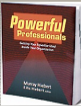 Powerful Professionals book cover